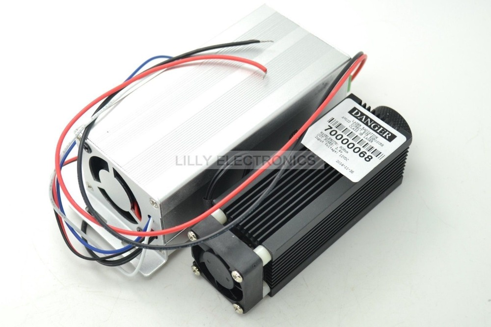 цена на Industrial High Power Focusable 4W 4000mW 808nm Infrared Laser Diode Module