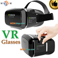 """Shinecon vr ii smartphone do filme em 3d de realidade virtual 3d óculos capacete vr 3d google papelão 4.7-6 """"Telefone inteligente de Vídeo de Vidro"""