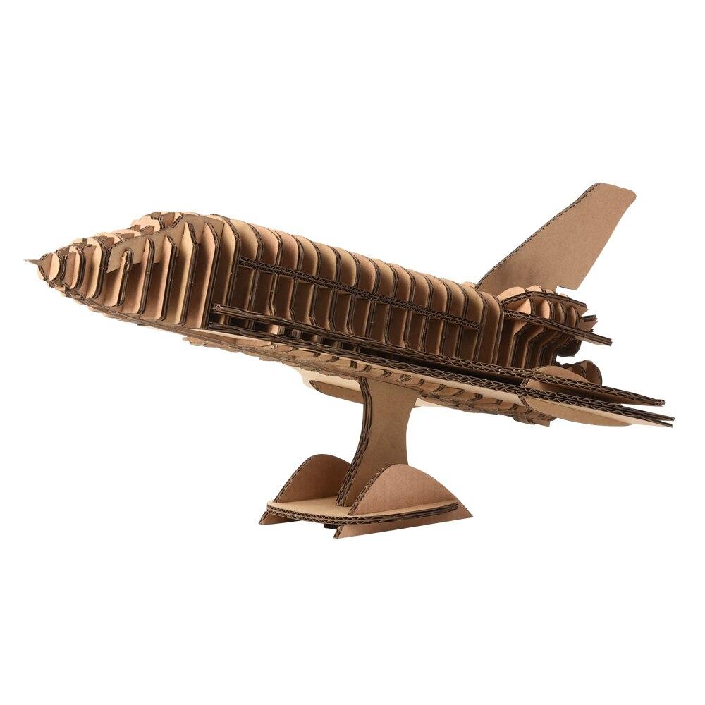 Papier Craft 3D avion modèle Puzzle belle décoration d'affichage pour la maison enfant-Parent jeu jouer enfants meilleur jouet cadeau