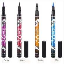 1 шт., бренд, женская черная жидкая подводка для глаз, стойкие водонепроницаемые вечерние подводки для глаз, карандаш, Хороший макияж, косметические инструменты