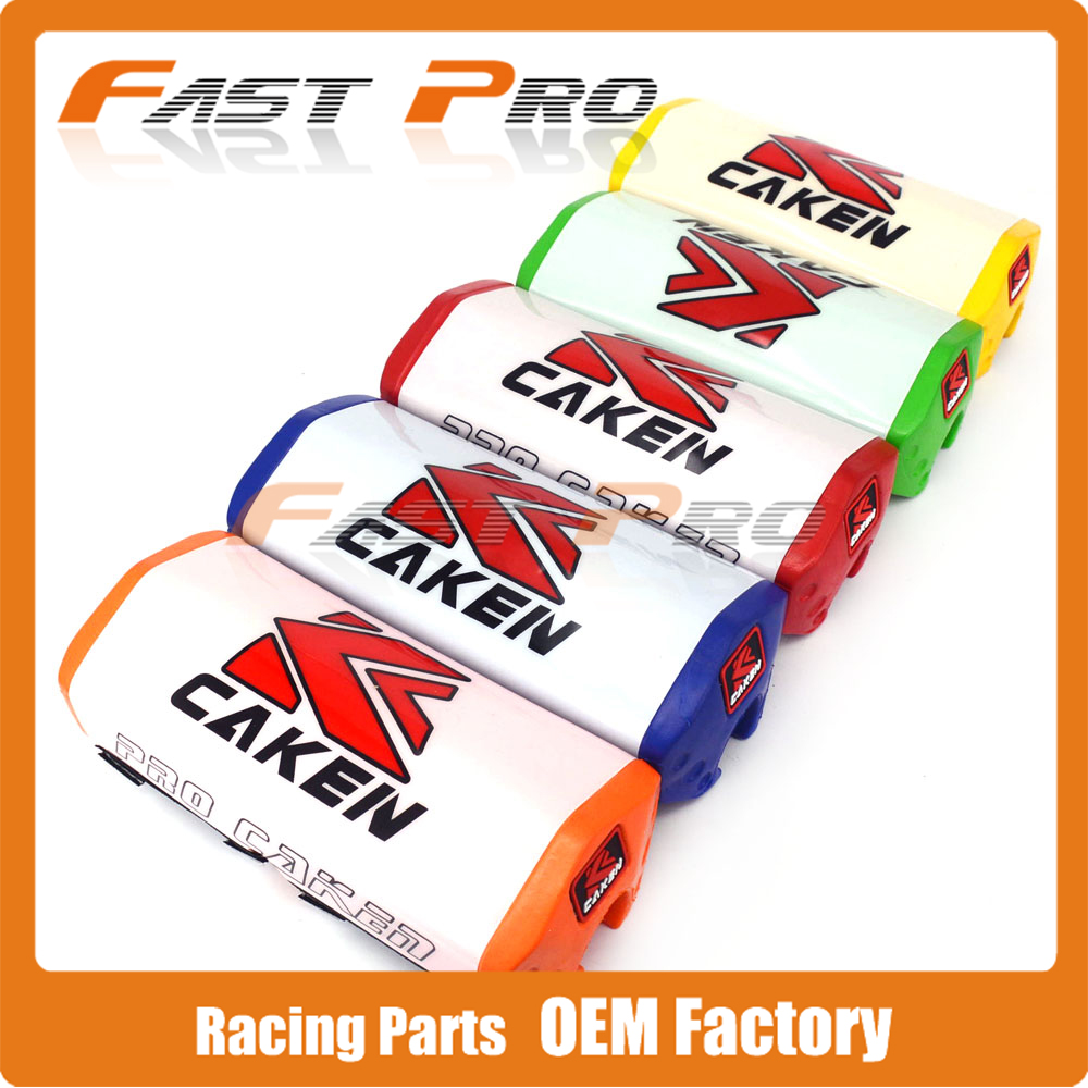 Pro CAKEN Motorcycle Handlebar Fat Bar Foam Pad Chest Protector Cross Bar Protection Slider For Dirt Bike KTM HONDA YAMAHA