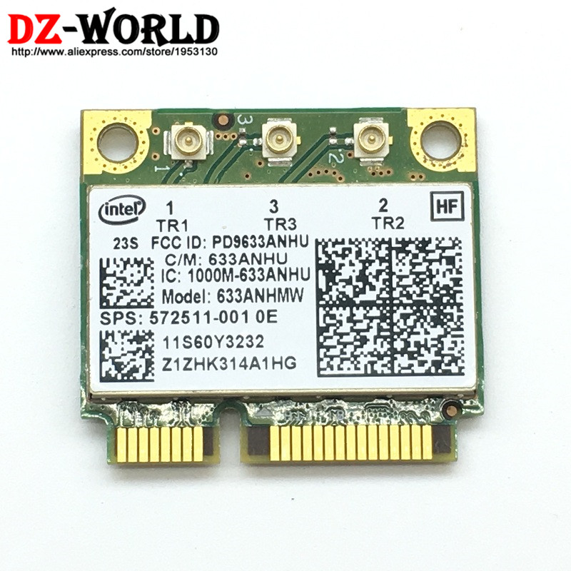 IBM Lenovo Thinkpad Wireless Ultimate N Card 450Mbps T400s T410 T410i T420s T510
