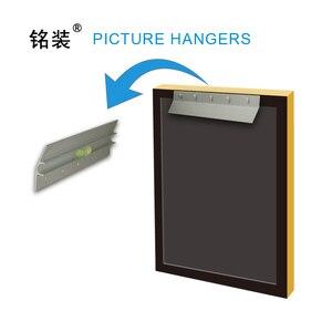 """Image 2 - 6 """"Heavy Duty Spiegel und Bild Aufhänger für gemälde Z Bar rahmen Aufhänger Unterstützt 50 £ Palette oder panel Wand Halterung"""