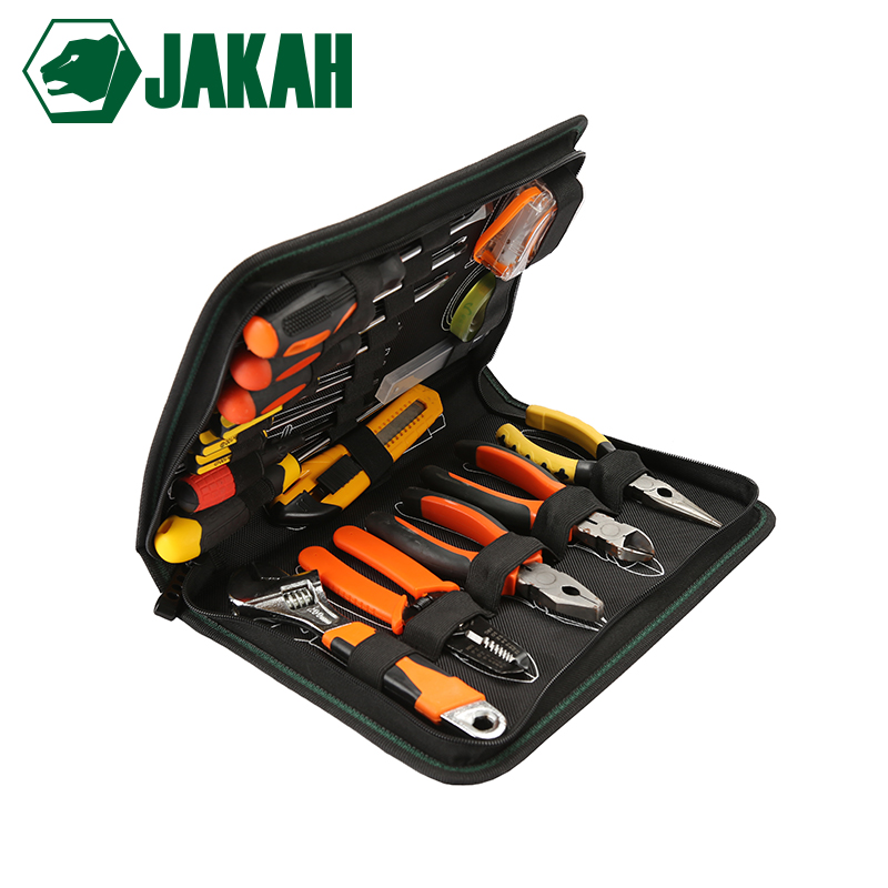 JAKAH 2018 New Wholesale Thicken Water-proof Tool Bag Oxford Fabric Material Handbag Free Shipping