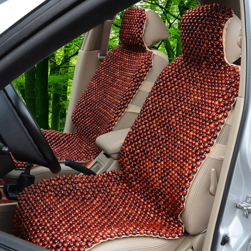 Best Wooden Bead Car Seat Cushion Summer Cypress Auto Supplies Single In Automobiles Covers From