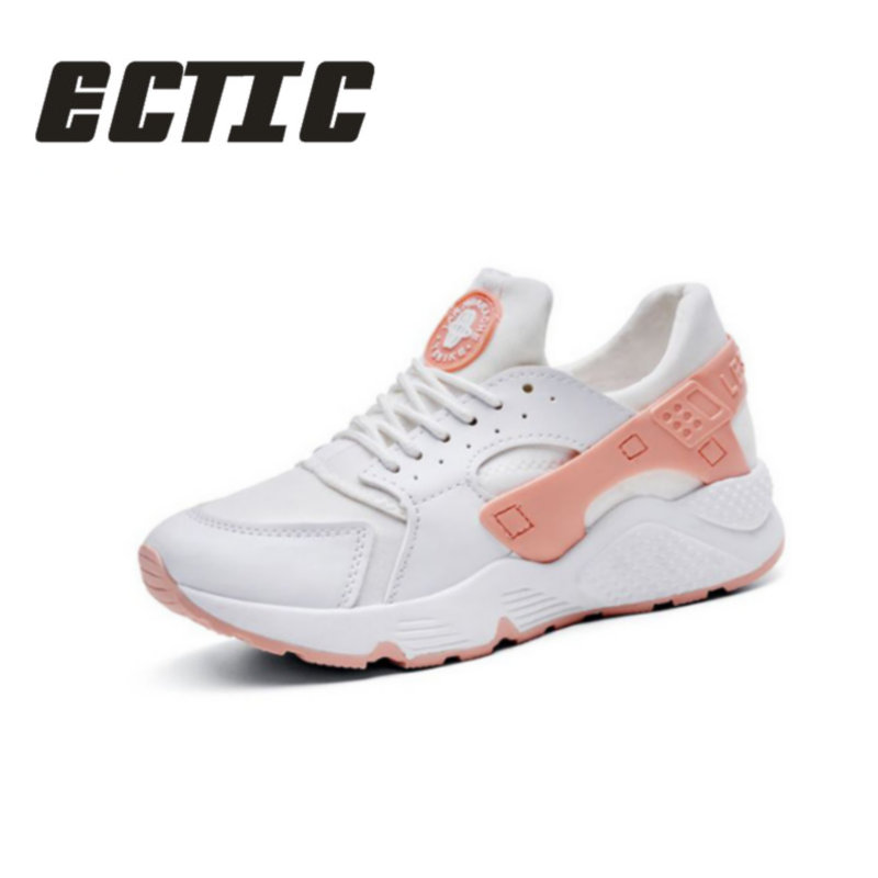 ECTIC Fashion Trainers Sneakers Women Casual Shoes air Mesh Grils Wedges Canvas Shoes Woman Tenis Feminino Zapatos Mujer YY-02