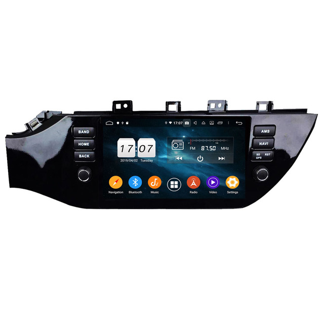 ROM 64G Android 9 0 Para KIO K2/RIO Rússia 2017 2018 Octa Núcleo PX5 Car  DVD Multimedia player auto rádio de Navegação GPS dvd