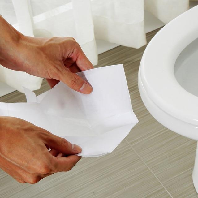 Disposable Toilet Seat Covers 10 pcs Set Disposables & Single-Use Toilet Seat Covers