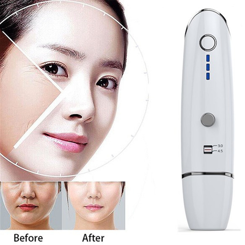 Ultrasonic Mini HIFU Radar V Curing Anti Aging Skin Lifting Facial Care High Intensity Focused Home Use Skin Rejuvenation Machin