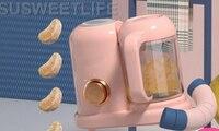 Детское питание машины детские многофункциональные приготовления смеситель интегрированный пищевой процессора мясорубку
