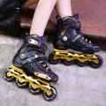 Japy Skate Roselle Inline Skates Professional Slalom Adult Roller Skating Shoes Sliding Free Skating Good As SEBA Patines Adulto