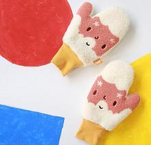 Zima nowości kobiety ciepłe rękawiczki kaszmirowe koreański moda Cartoon zabawny rękawiczki wysokiej jakości upuszczanie wysyłka 2017 tanie tanio FISH-STONE-SEA COTTON Dla dorosłych WOMEN Nadgarstek Patchwork XA-023