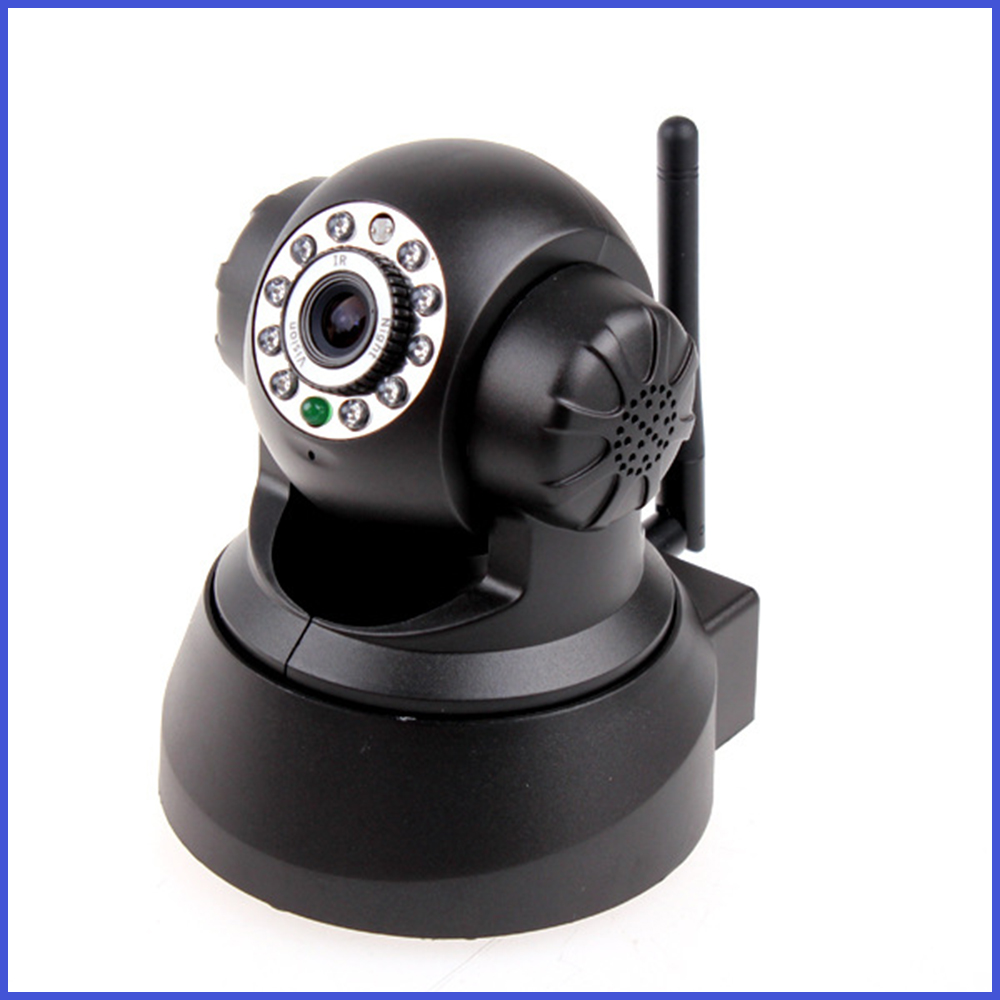 H.264 Megapixel Wireless IP Camera with IR-CUT, 32GB TF Card, Supports Browsers and Mobile