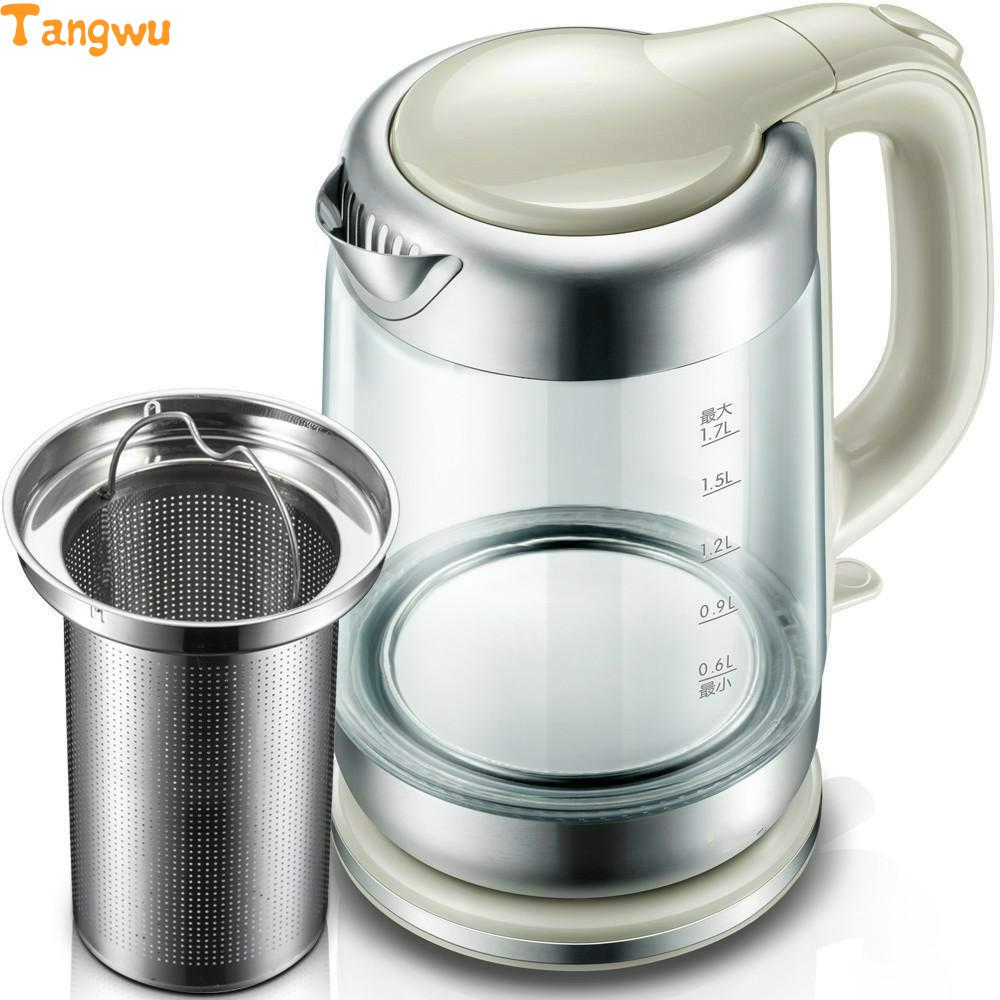 Free shipping Electric kettle automatically without electricity Glass цены онлайн
