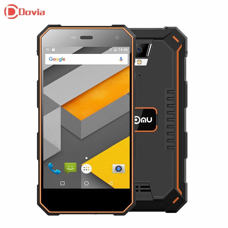 Nomu S10 Android 6.0 5.0 pollice 4G Smartphone MTK6737 1.5 GHz Quad nucleo 2 GB di RAM 16 GB ROM Hotspot HiFi Impermeabile IP68 Cellulare