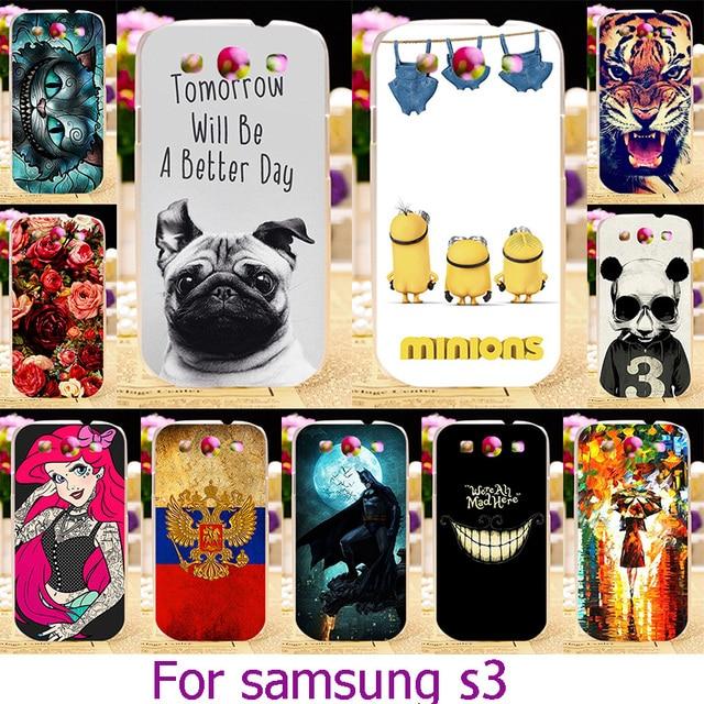 AKABEILA Soft TPU Hard Plastic Case For Samsung Galaxy S III S3 GT-i9300 4.8 inch i9300 I939D DUOS i9300i SIII Neo+ Case Cover
