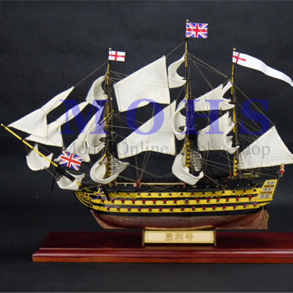 ALL NEW designed wooden model kits classical wooden sailing boat 1/200 wood  VICTORY sailing ship wooden kits scale sailing ship