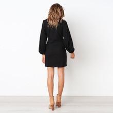 Elegant Long Sleeve Casual Simple Dress