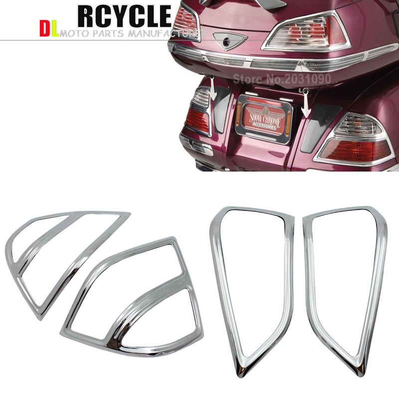 abs Fairing Saddlebag Light Accents for Honda Goldwing GL1800 01 11 02 03 04 05 06