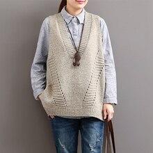 Johnature النساء البلوزات الخامس الرقبة أكمام فضفاضة 2020 الخريف جديد الكورية الأزياء الجوف خارج 4 اللون عارضة قمم سترة البلوزات