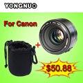 YONGNUO YN50MM F/1.8 Большой Апертурой Объектив с Автофокусировкой yn50mm AF/MF линзы для Canon EOS И Nikon DSLR Камеры 50 мм f1.8 объектив