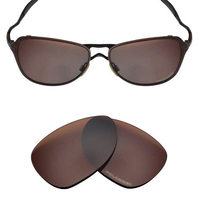 b7feec7fd2e6 Mryok POLARIZED Resist SeaWater Replacement Lenses for Oakley Felon  Sunglasses Bronze Brown