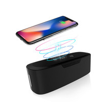 2019 New ES11 Wireless Fast Charge Bluetooth Speaker Hifi 3D Stereo For Home Bluetooth playback ( TWS), hands free calling