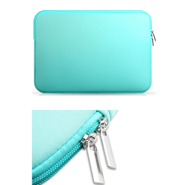 "2017 Soft Laptop Sleeve Case For Notebook Computer 11.6"" 13.3"" 14"" 15.4"" sleeve case For Macbook Air Pro 5"