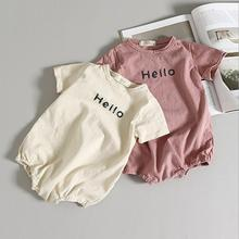 SOIFORM 2019 Baby Girls Boys Romper Summer Cotton Jumpsuits