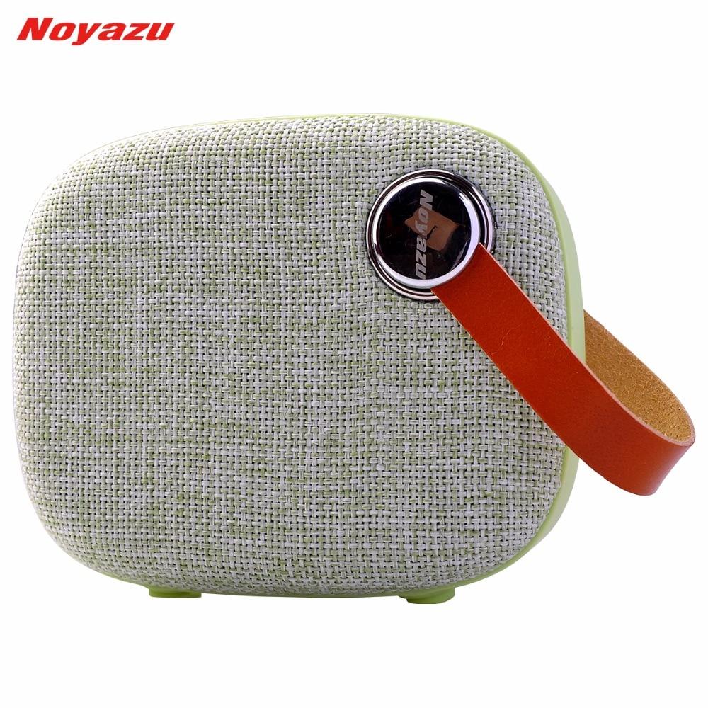 Noyazu T200 portable tissu Art Bluetooth Blet haut-parleur corne diaphragme sans fil Max 32G Extension TF AUX haut-parleurs mains libres