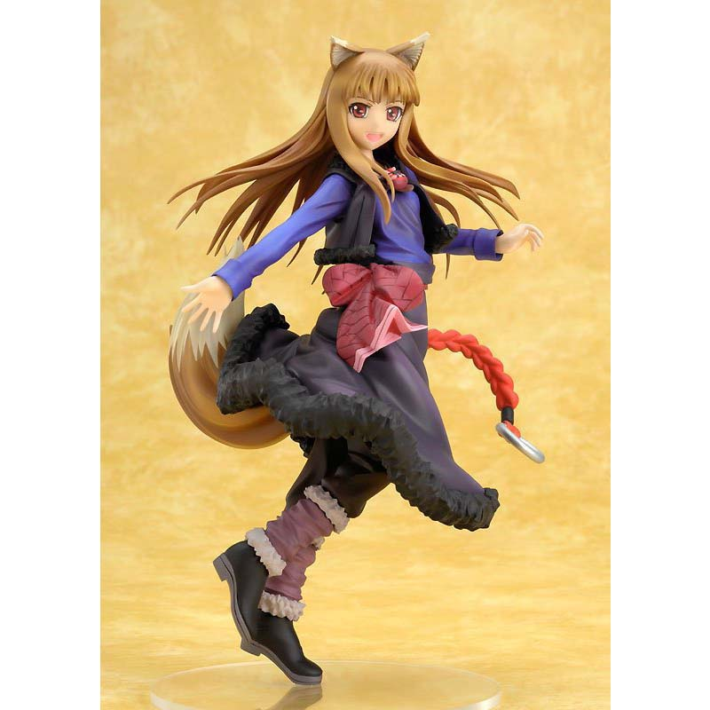 Spice & Wolf Figure Anime Holo Action Figure Holo Renewal Kotobukiya Toy 20cm 20cm figurine japanese anime spice and wolf holo pvc action figures sexy girl model toys gift