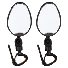 2 Pcs 360° Bike Rearview Mirror Rotation Mountain Road Bicycle Cycling Rear View for Bicycles