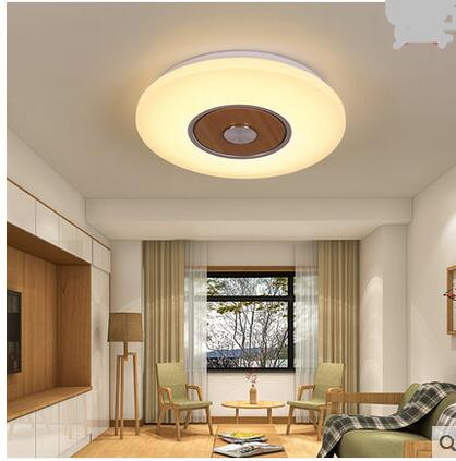 Japanese creative wood ceiling living room lights balcony porch lamp round kitchen bedroom LED wooden ceiling lamps ZAMZ38