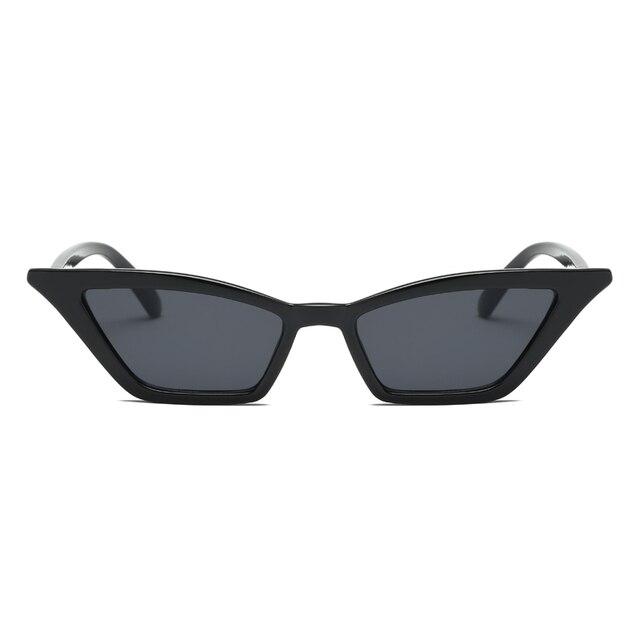 Vintage Sunglasses Women Cat Eye Luxury Brand Designer Sun Glasses Retro  Small Red ladies Sunglass Black Eyewear oculos|Women's Sunglasses| -  AliExpress
