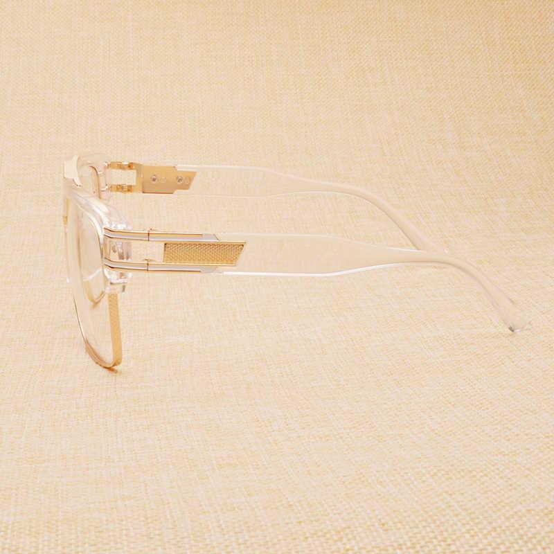 Nossa Kepribadian Fashion Kacamata Bingkai Keren Unisex Optik Wanita dan Pria Kacamata Asli Kacamata Kacamata Goggle