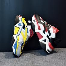 Fashion Chunky Sneakers Women Summer Autumn 2019 Soft Leisure Footwear Flats Platform Casual Shoes