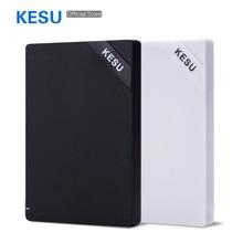 Оригинальный кесу 2,5 »внешний жесткий диск SATA 2 ТБ 1 ТБ 750 Гб 500 Гб 320 ГБ 250 Гб 160 Гб 160 USB3.0 HDD Портативный внешний жесткий диск HD
