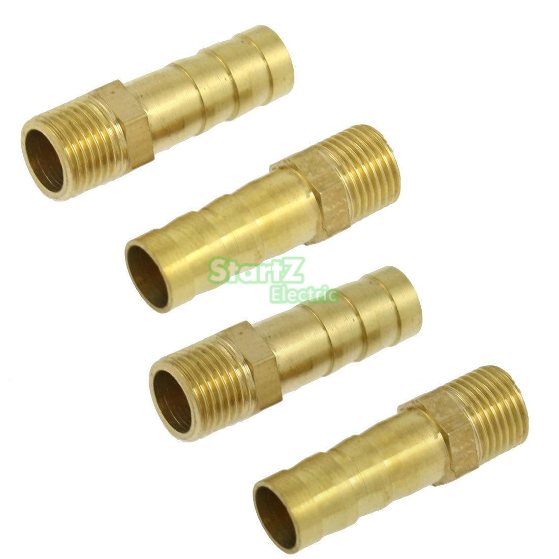 Pcs pt male to mm air hose barb pipe barbed