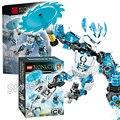 62 unids bela bionicle hero protector de hielo modelo kit de construcción de bloques de los niños ladrillos regalos juguetes compatibles con lego