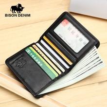 Black Purse For Men Genuine Leather Men's Wallets