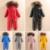 2017 traje Infantil del invierno del bebé del mono del mameluco abajo cálido invierno bebé muchachos mameluco mamelucos de los bebés de traje para la nieve de invierno gruesa capa