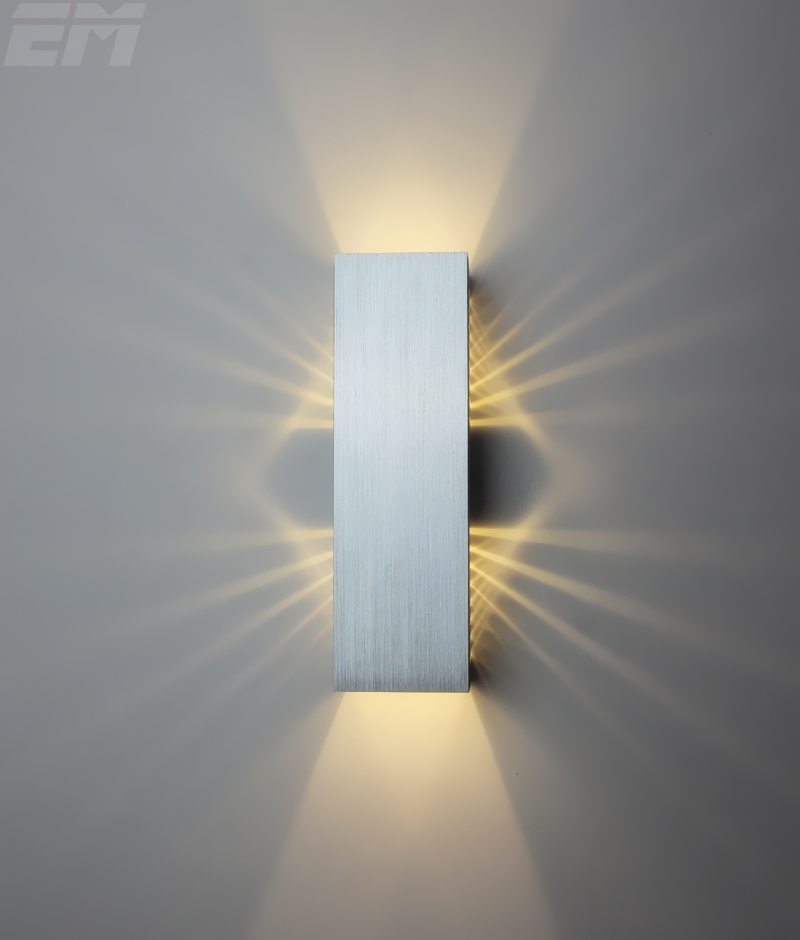 Modern Home Lighting Wall Sconce 19*6*6cm 2*3w 90~260V