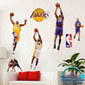 3D stereo NBA Lakers Kobe Bryant Slam Dunk James Basketball Legend Wall Stickers Fresco Stickers New Year Gifts Posters Star