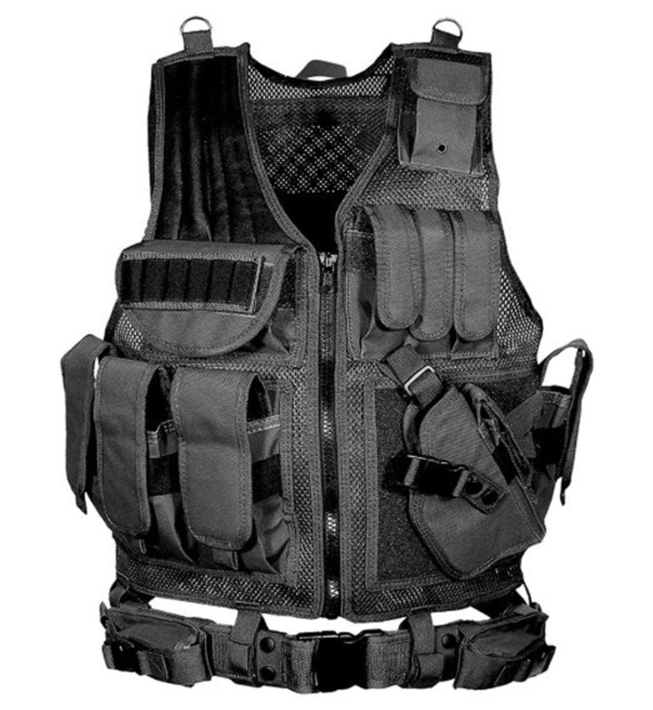 Shanghai Story Tactical Mesh Vest Camo Tactical Vest army combat uniform military tactical Law Enforcement Vest 5 Color