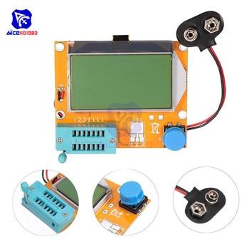 Mega328 LCR-T4 Transistor Tester Diode Triode Capacitance ESR Meter MOS PNP/NPN M328 Capacitor ESR SCR MOSFET Resistor Detector