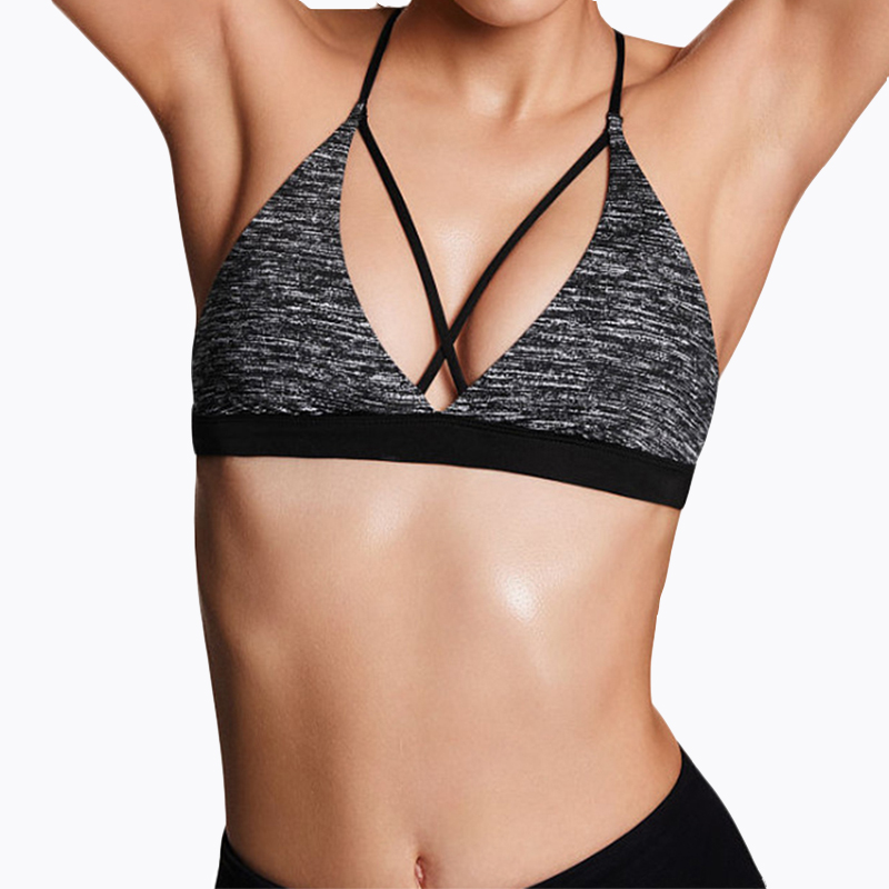 2019 New Sexy Breathable Sport Bras Top Seamless Running Brassiere Bras For Women Cup BH Comfortable Wire Free Gym Clothes