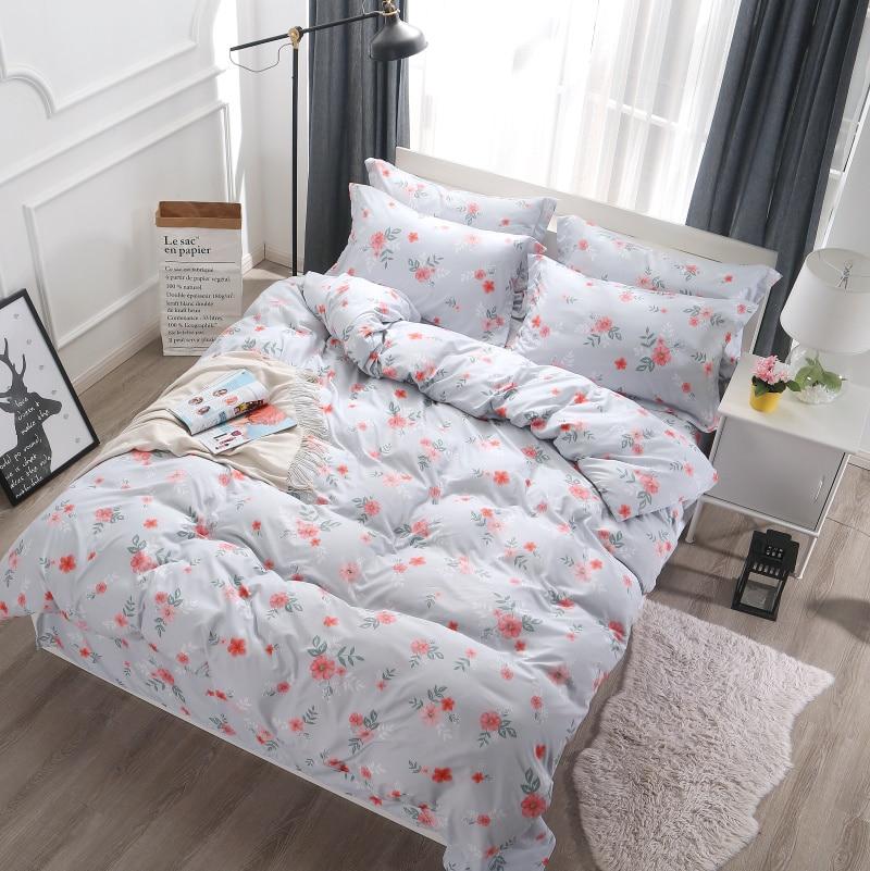western style Dobby bedding queen size victoria secret kids full luxury quilt set 100% Cotton so soft 2-3 person dekbedovertrek