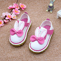 2017 New Rabbit Ears Baby Girls Shoes Cartoon Infant Girls First Walkers Spring Toddler Girls Soft Walker Shoes Size 5.5-8
