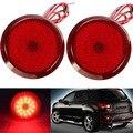 Горячие СВЕТОДИОДНЫЕ Задние Бампера Отражатель Тормоза кабеля Свет DC12V Парковка Предупреждение Бампер Лампа Для Scion xB iQ/Toyota Sienna Corolla