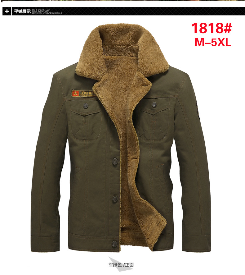2019 Winter Bomber Jacket Men Air Force Pilot MA1 Jacket Warm Male fur collar Mens Army Tactical Fleece Jackets Drop Shipping 13